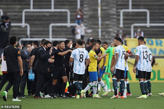 Lionel Messi questioned Brazil officials on suspending clash against Brazil