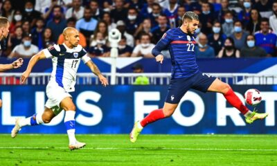 France beat Finland with a double from Antoine Griezmann