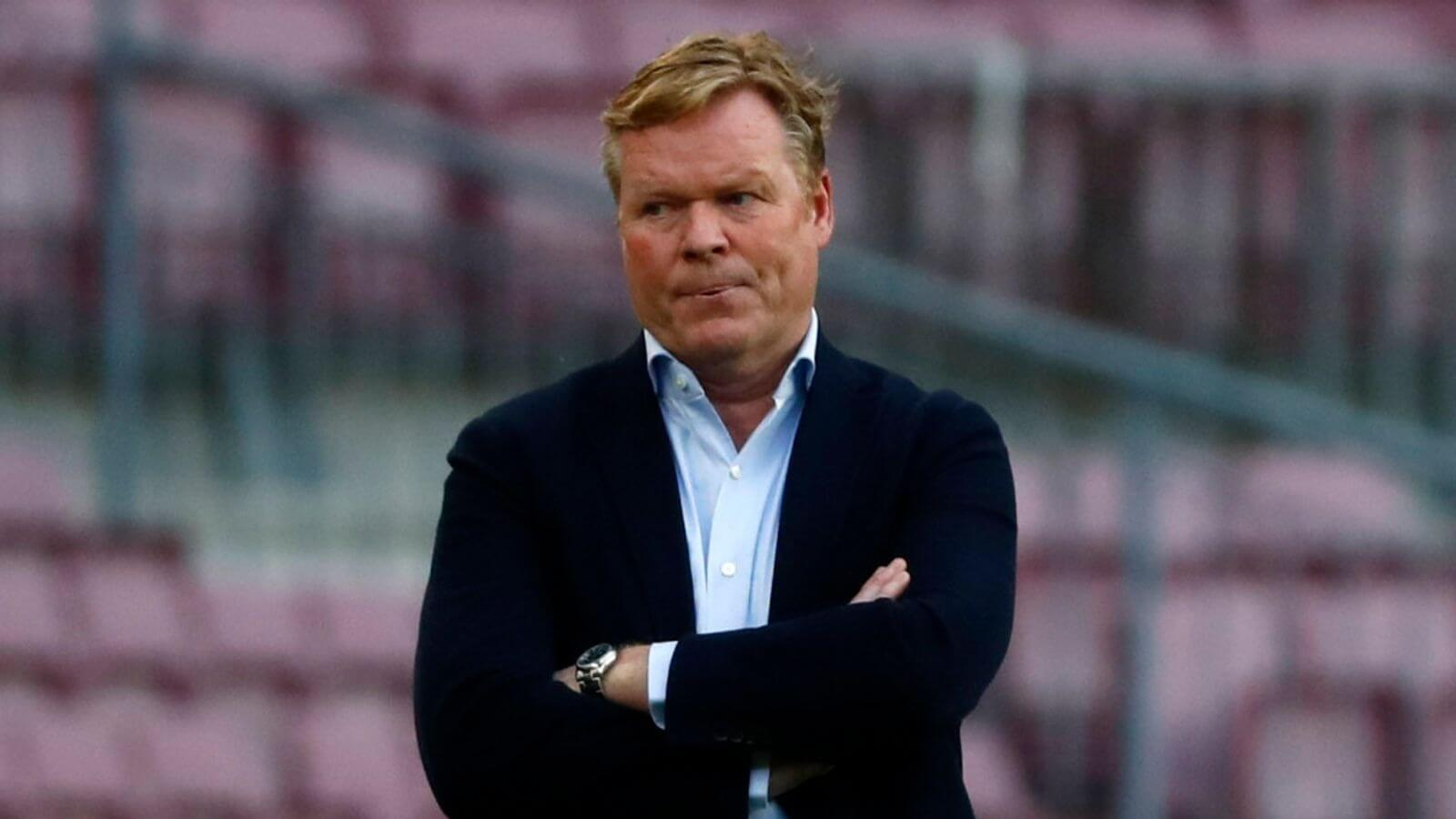 Koeman compelled to meet Barcelona targets for new contract
