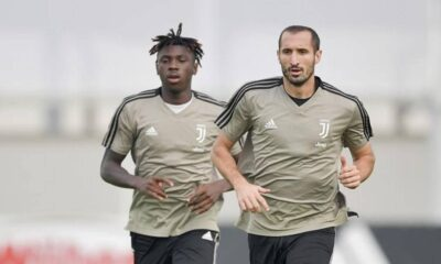 Moise Kean feels no pressure to replace Ronaldo at Juve