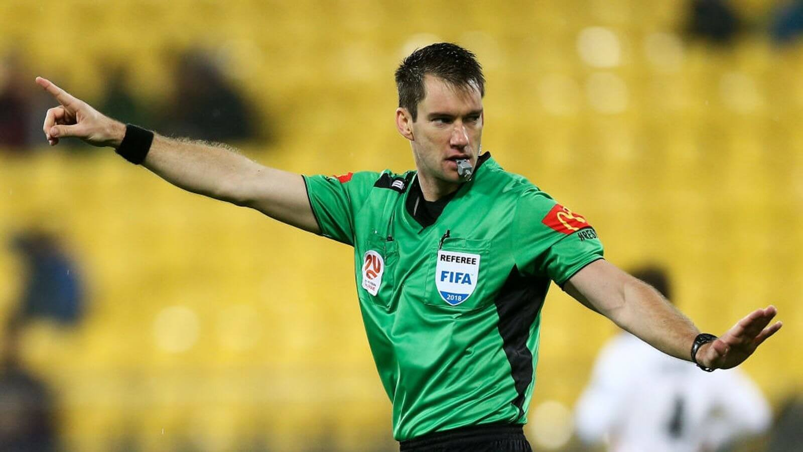 Jarred Gillett becomes first Premier League overseas referee