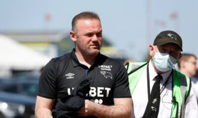 Rooney displeased with Derby County owner Morris