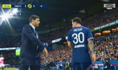 Pochettino explained Messi substitution reason in win over Lyon