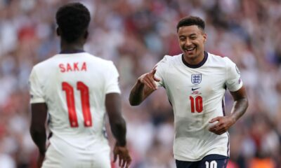 England secured easy victory over Andorra