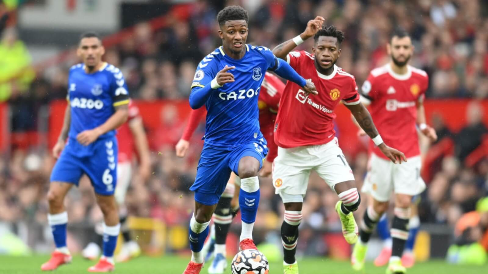Premier League: Everton held Manchester United on draw