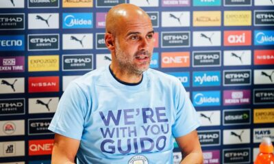 """""""We're with you Guido"""" - Guardiola in a message of solidarity to a fan"""