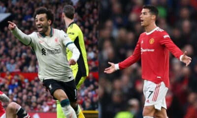 Salah's brilliant hat trick pushed Liverpool to win 5-0 over Manchester United